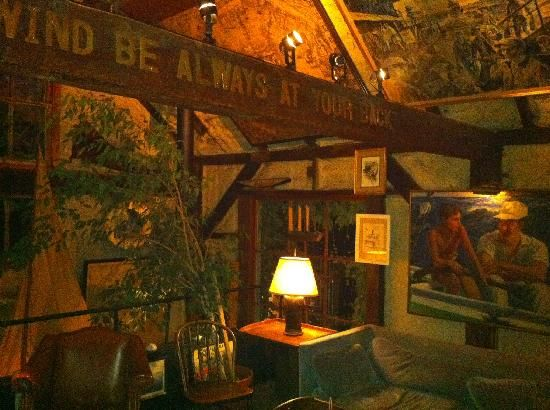 The Boat House: Upstairs Seating