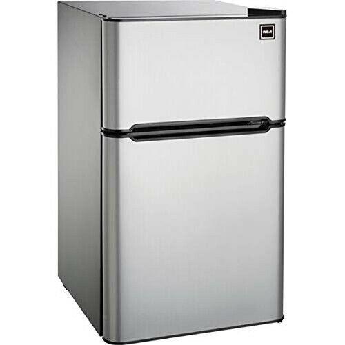 Ebay Sponsored Rca 3 2 Cu Ft 2 Door Fridge Compact Fridge Mini Fridge With Freezer Compact Refrigerator