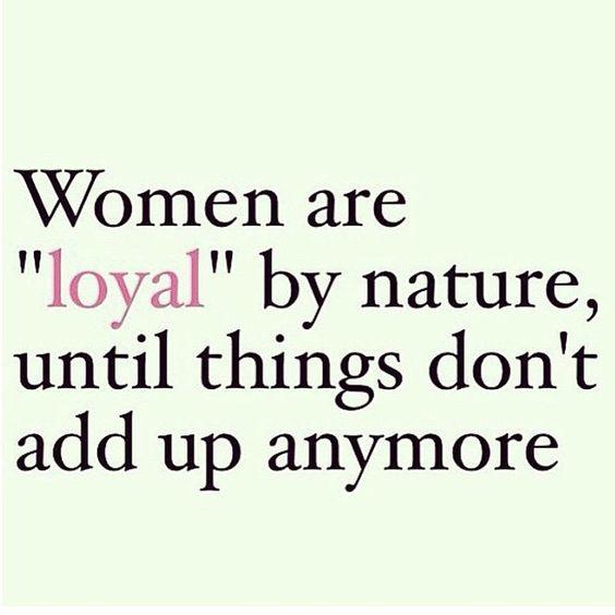 Loyal...& then gone