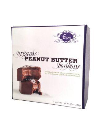 Vosges Organic Peanut Butter Bonbons, 9 pieces