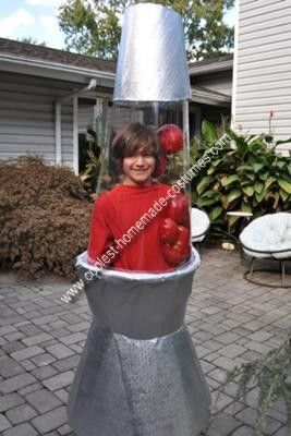 Coolest Homemade Lava Lamp Costume To Be Laundry