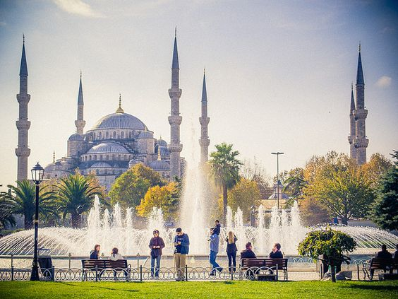 Blue Mosque, Istanbul by miemo, via Flickr