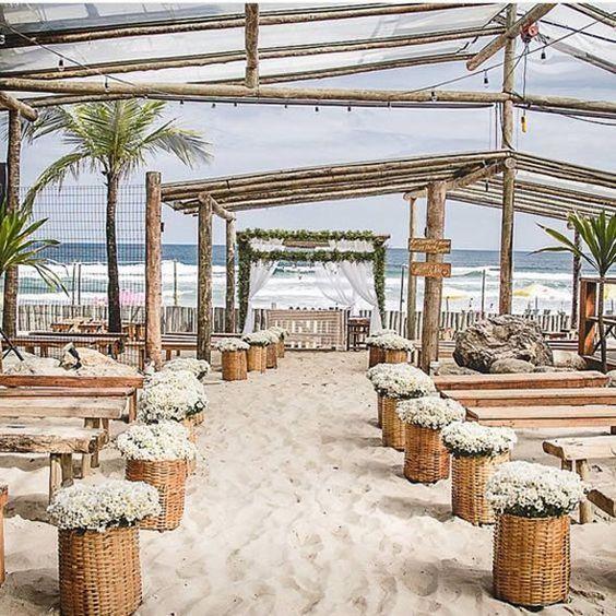 Decoração para Casamento na Praia | Como fazer em casa