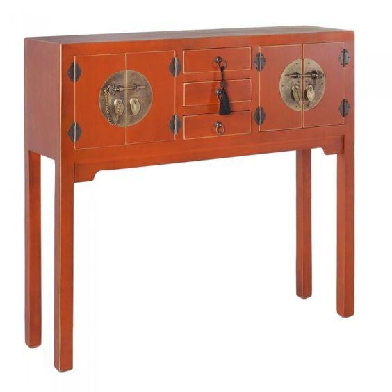 Muebles chinos orientales calabaza pinteres for Muebles orientales
