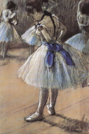 3 generations of ballerinas in our family all enjoy Degas' paintings.