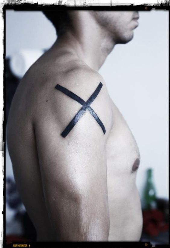 X for me represents all the negative concepts, mostly destruction.  Destruction is a form of creation.