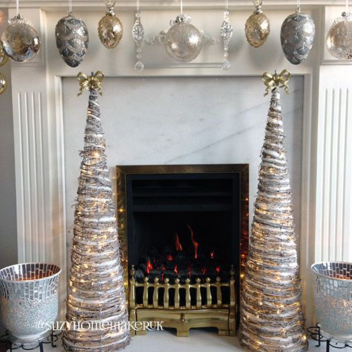 Stunning Metallic Christmas decor