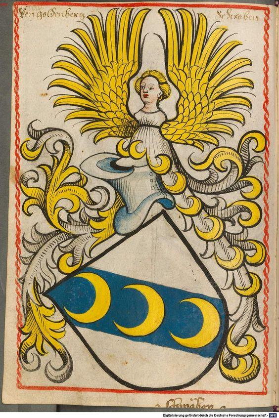 Scheibler'sches Wappenbuch Süddeutschland, um 1450 - 17. Jh. Cod.icon. 312 c  Folio 108