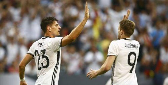 Allemagne Hongrie 2-0