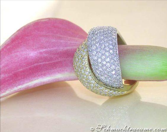 Hochkarätiger Brillanten Ring » Juwelier Schmucktraeume.com
