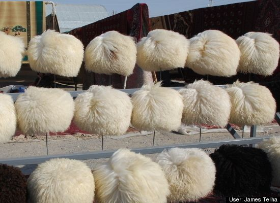 Tolchuka Bazaar, Ashgabat, Turkmenistan: Marketplace