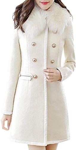New LISTHA Wool Lapel Trench Parka Coat Women Warm Outwear Long Jacket Overcoat Womens winter clothing. [$29.61] fashionsguide offers on top store