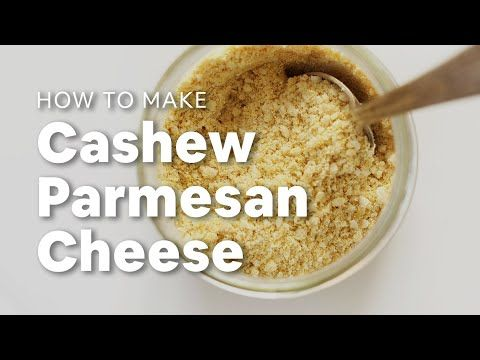 A Quick Step By Step Tutorial On How To Make Vegan Parmesan Cheese Vegan Parmesan Cheese Vegan Parmesan Baker Recipes