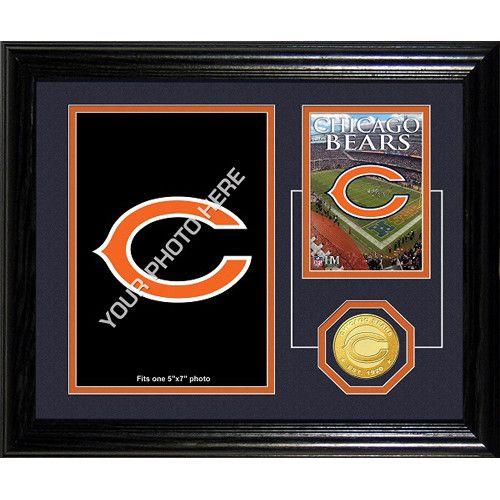 Chicago Bears Framed Memories Desktop Photo Mint
