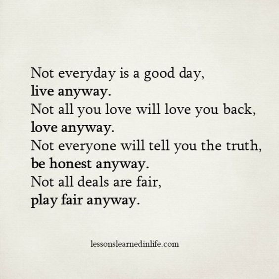 Lessons Learned in Life | Anyway.: