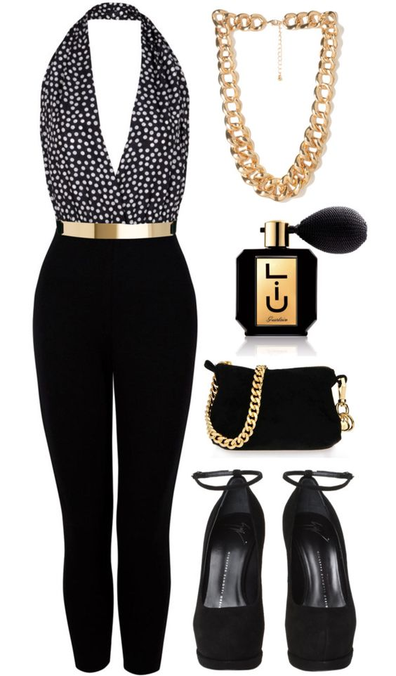 """she spray up everything."" by goldiloxx on Polyvore:"