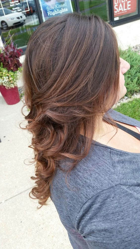 Carmel balayage kick off for fall 🍂hair by cheyenne cost cutters jansville wi milton ave