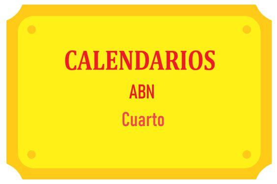 Calendarios ABN Cuarto