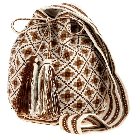 Native Wayuu Mochila Bag: