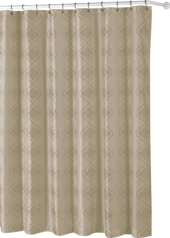 Crystal Shower Curtain