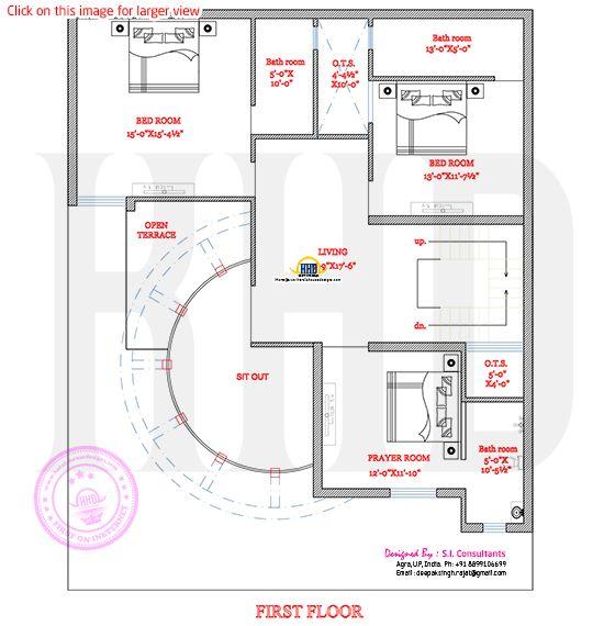 Modern House Plan With Round Design Element Kerala House Design Modern House Plans Round House Plans