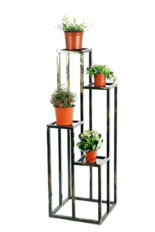 Tiered Plant Stand Indoor Four Tier Plant Stand Lb 4 Multi Tier