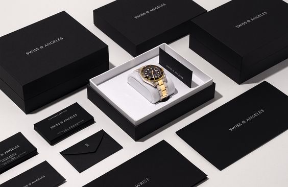 Packaging Design for vintage & pre-owned Rolex Watch