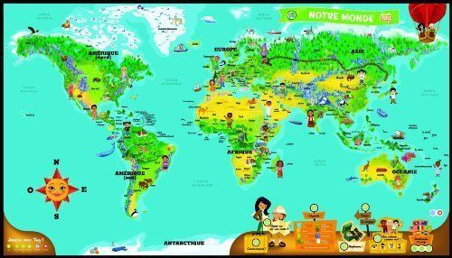 Leapfrog - 80885 - Jeu Educatif - Tag - Mappemonde Interactive