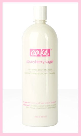 Cake Beauty Supreme Body Mousse (HiVolume 1L) in Strawberry Sugar