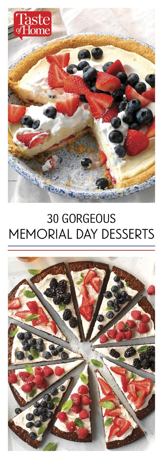 30 Gorgeous Desserts for Your Memorial Day Picnic