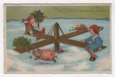 MA 12941 Glückwünsche für das neue Jahr Glück Schwein Spielzeug