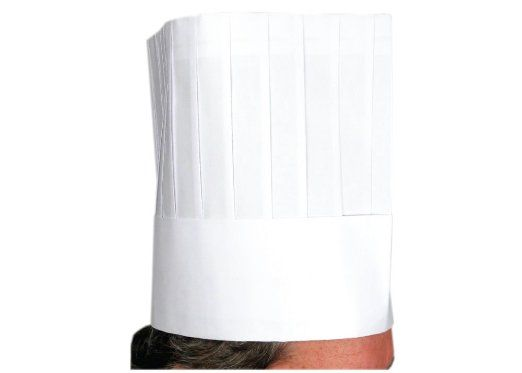 Amazon.com - Winco Disposable Chef Hat, 9 inch High - 10 pieces per bag - Chef Party Hat