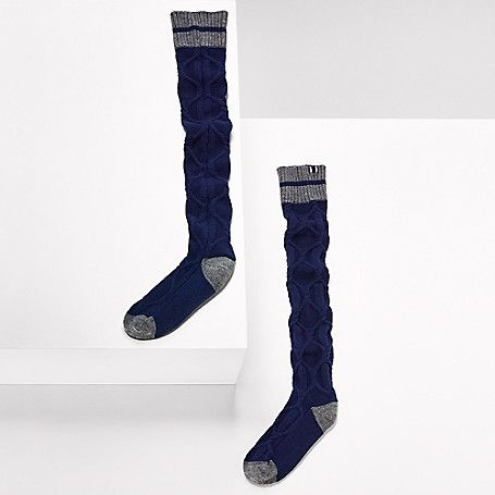Tommy Hilfiger women's socks. These overknee socks are part of an exclusive…