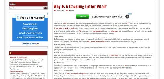 learnjobisite/covering-letter-vital/ Jobs Pinterest