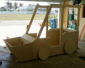 DIY Tractor Bed Hudson Pinterest Bed Beds