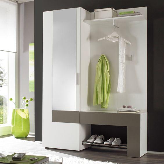 garderobe backbeat kompakt und modern der korpus ist. Black Bedroom Furniture Sets. Home Design Ideas