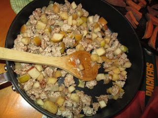 Turkey Apple Hash - for breakfast, lunch or supper! So delicious ...