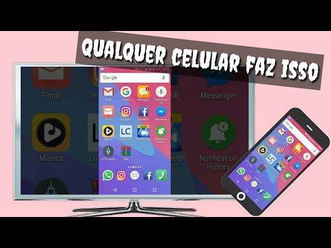 Aplicativo Pra Espelhar Qualquer Celular Sem Cabo Na Tv E N Pc