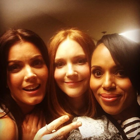We're here to lift your #TGITWithdrawal spirits with a photo from some of our #Scandal ladies.