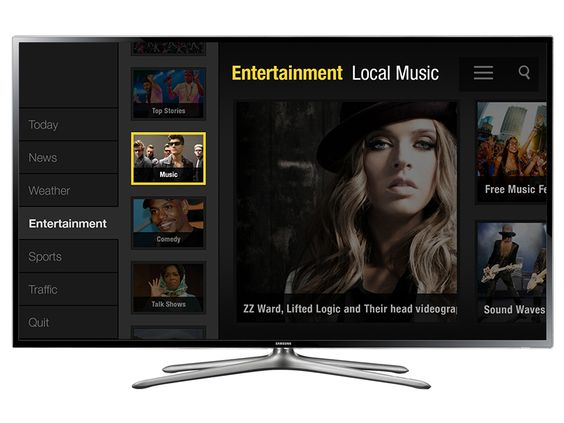Having a lot of fun working on this smart tv app.