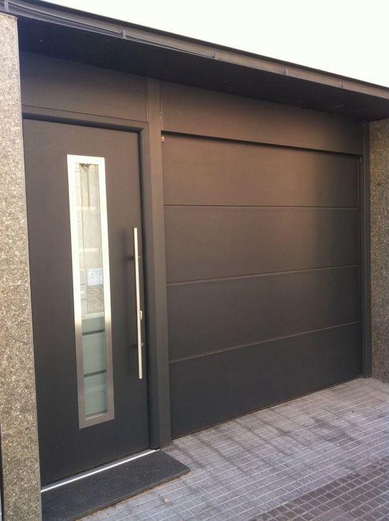 Puerta Seccional Remodelaciondecasas Garage Doors Garage Door Design Modern Garage Doors