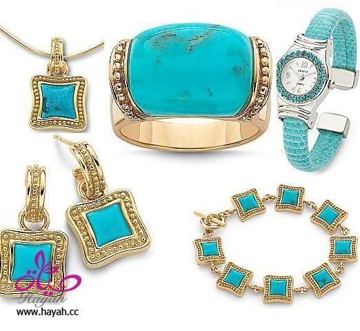 ارقى تشكيله من الساعات النسائيه والاكسسوارات Jewelry Trends Accessories Turquoise Bracelet