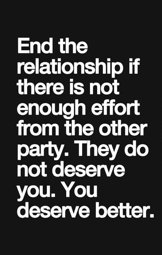 75 Effort In Relationship Quotes Sayings And Images The Random Vibez Relationship Effort Quotes Effort Quotes I Deserve Better Quotes