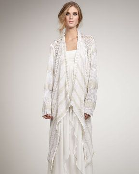 Rachel Zoe Chloe Striped Open Cardigan. Saw this at her fashion show...great for this summer!!!