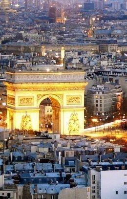 Arc de Triomphe, Champs Elysées, Paris