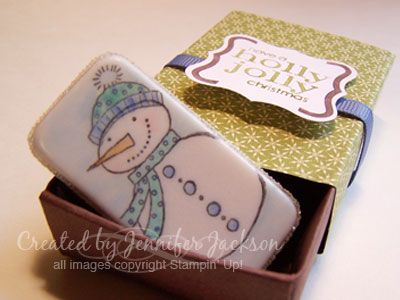 Domino Magnet in Matchbox by jenniferstamp04 - Cards and Paper Crafts at Splitcoaststampers