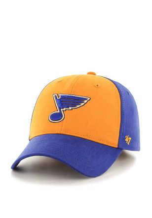'47 St Louis Blues Blue Broadside Youth Adjustable Hat