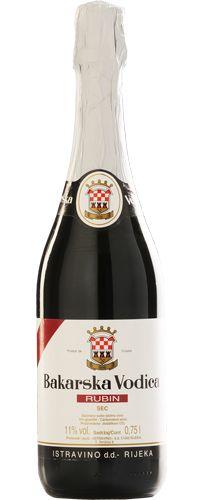 Bakarska Vodica Rubin - Croatian ruby-red sparkling wine