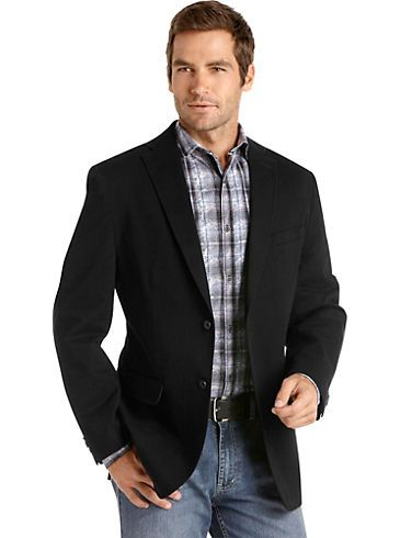 Jeans And Sports Jacket - Coat Nj