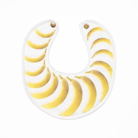 Image of bavoir bananes . bananas bib